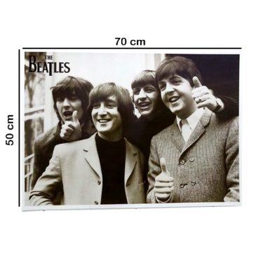... 50 X 70 CM Poster Personil The Beatles Jumbo