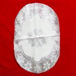 Souvenir Pernikahan Taplak Meja Vynil Putih