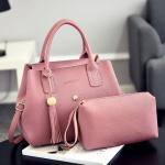 Tas Selempang Modis Pink 2 in 1